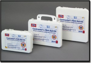 Contractors First Aid Kits
