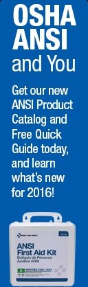 Click to see the NEW OSHA ANSI First Aid Kits!
