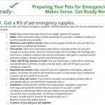 Preparing Your Pet for Evacuation
