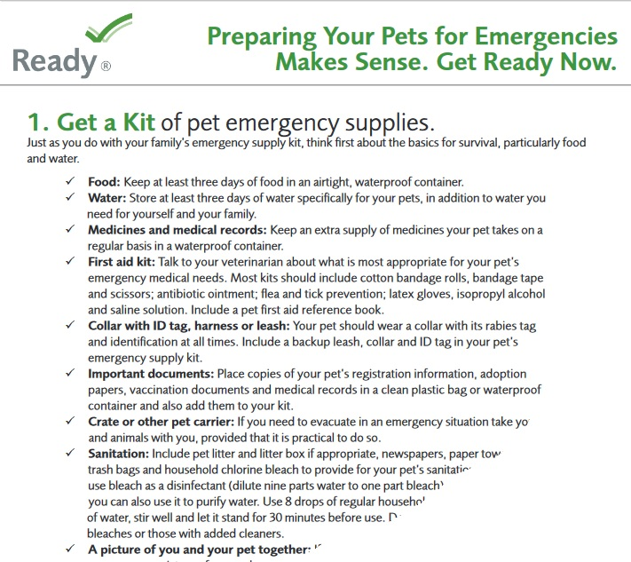 Pet-Owners-checklist