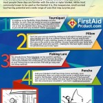 50 USES FOR  SOLAR EMERGENCY BLANKETS - Free e-book / infographic