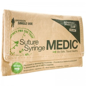 Adventure Medical Suture/Syringe Medic Emergency First Aid Pack