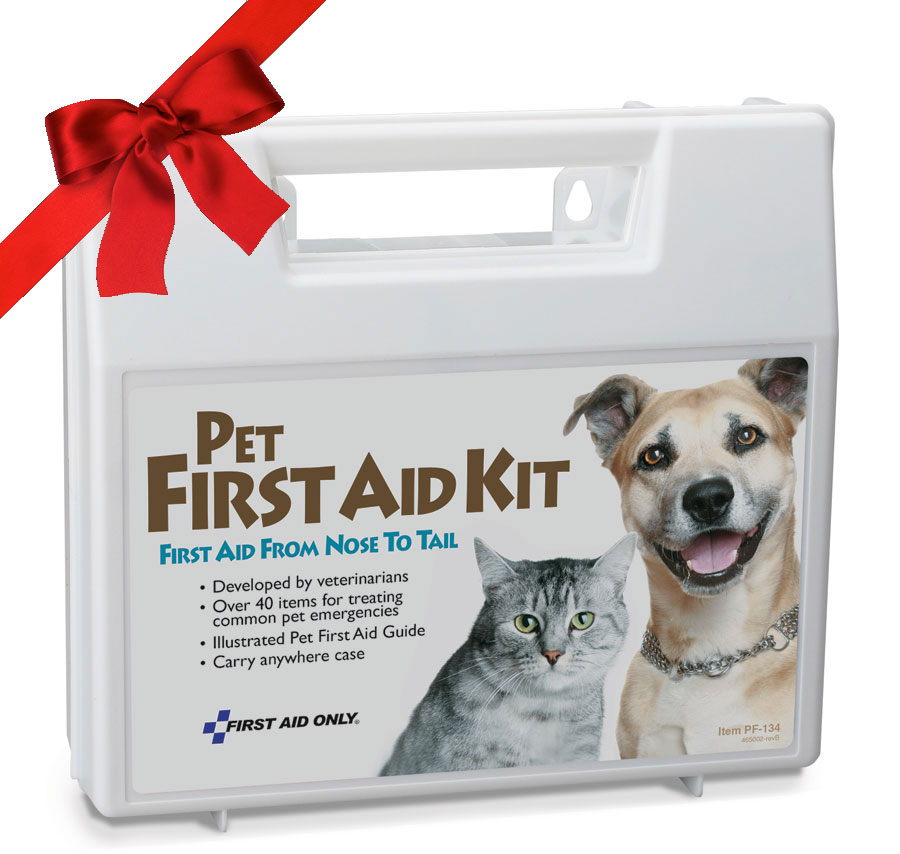 Pet First Aid Kits - Canine, Feline & Equine First Aid Kits and Bags: First Aid Kits made especially for your pets. Dog First Aid, Cat First Aid, Horse First Aid ~ You'll find unique items such as leashes, syringes, and eyewash in these pet first aid kits and pet disaster survival kits that have been developed in collaboration with leading veterinarians. These kits serve as a dog first aid kit, cat first aid kit, or may help with many other mammalian pets! See the new deluxe Sporting Dog First Aid kits if your Canine hits the field with you! We're Canine, Feline & Equine First Aid Headquarters. Pet First Aid Kits - Emergency Care for your Dog, Cat & even your Horse!