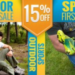 15% OFF Outdoor / Sports First Aid Sale
