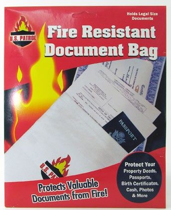 Protect Your Property Deeds, Passports, Birth Certificates, Cash, Photos and more. Holds Legal Size Documents.