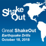 The Great ShakeOut is October 18th