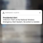 Did you get the Presidential Alert? If not this is why.