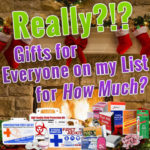 First Aid, Safety, CPR, and Preparedness Gifts For Everyone on Your List!