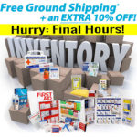 10% off + Free Ground Shipping on any order of $49*