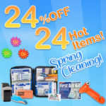 24% OFF 24 Items Spring Cleaning Sale!