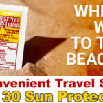 Try Safetec Convenient Travel Size SPF 30 Sun Protection
