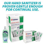 Safetec's Hand Sanitizer Won't Irritate Your Hands