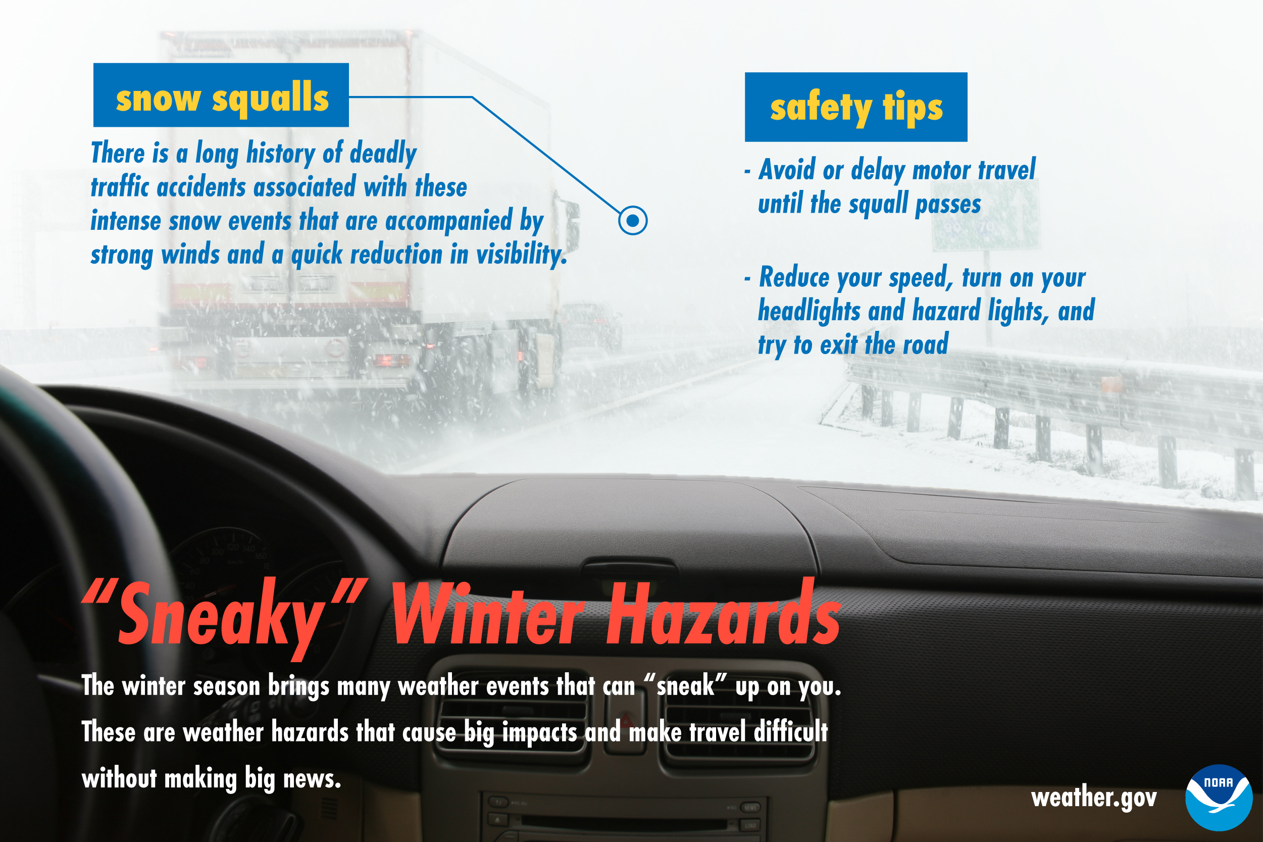 Sneaky Winter Hazards: Snow squalls