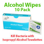 Kill Bacteria - Alcohol Wipes – Isopropyl Alcohol Towelettes