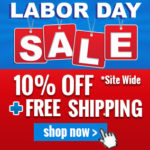 10 Percent OFF Labor Day Week Event!