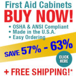 57% - 63% Off Urgent First Aid Cabinets