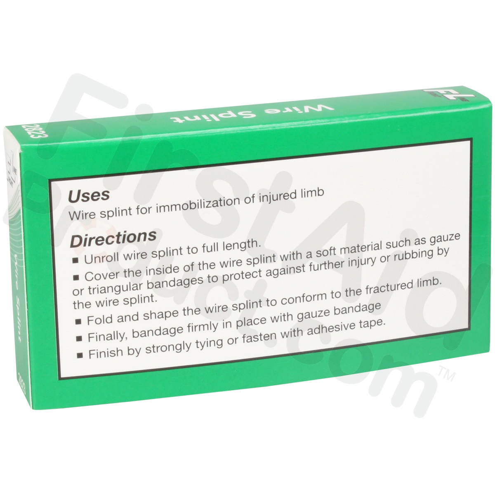 First-Aid-Product.com: Rolled Wire Splints, 1 per box - Splints ...