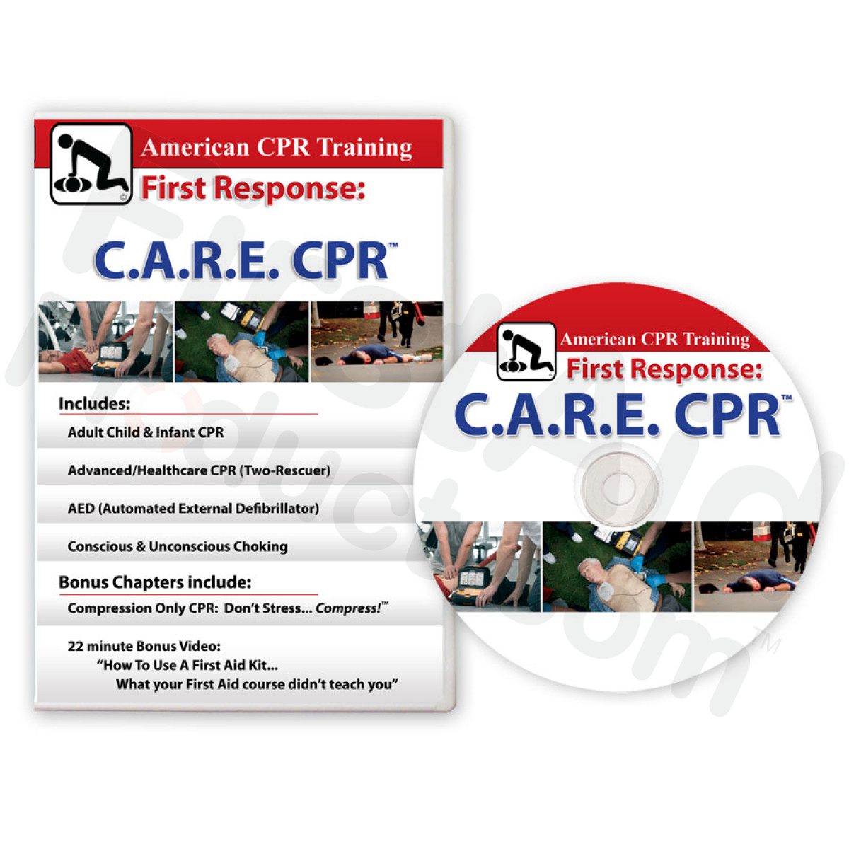 First-Aid-Product.com: BOGO: The First Aid Video + C.A.R.E. CPR DVDs