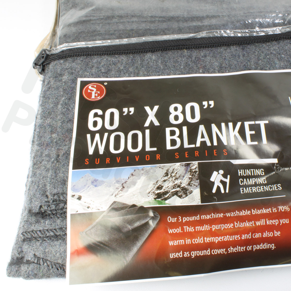 first aid 60 70 wool blanket 60 x 80. Black Bedroom Furniture Sets. Home Design Ideas