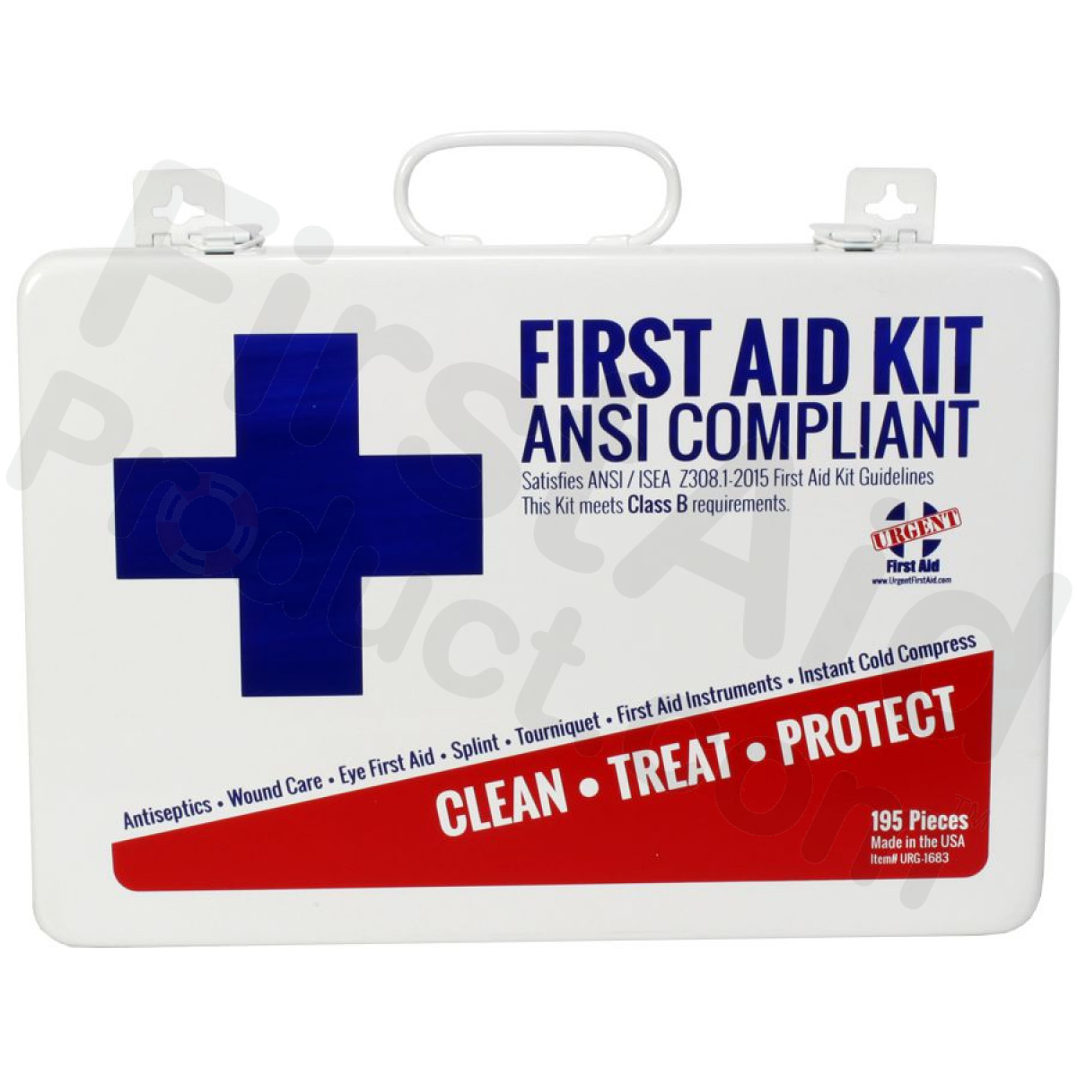 First Aid Product Bulk First Aid Kit Metal 198 Pieces Ansi B