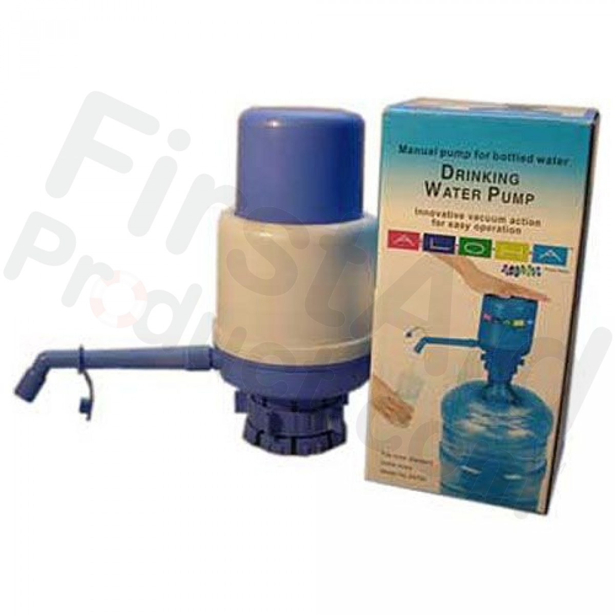 Hand Pump for 5 Gallon Water Bottle  sc 1 st  First-Aid-Product.com & First-Aid-Product.com: Emergency Water | Water Storage | Water ...