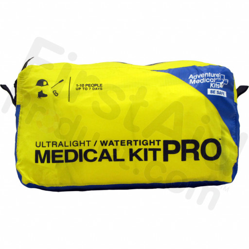 Professional-grade components include a Laerdal® CPR Mask with O2 valve, SAM® Splint, and deep stock of bandages, dressings, and medications