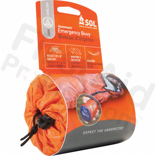 The Survive Outdoors Longer® Emergency Bivvy - Emergency shelter and Sleeping in one