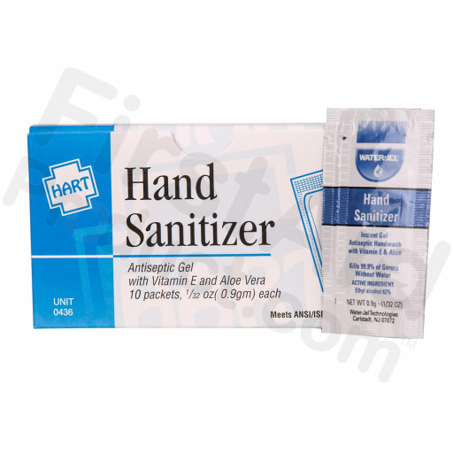 Hand Sanitizer, 10 Per Box