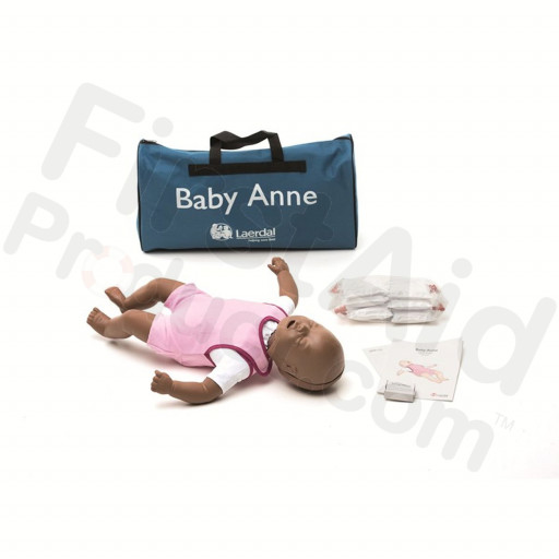Laerdal Baby Anne Infant CPR and Choking Manikin - Dark Skin