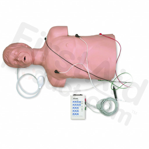 Simulaids Defibrillation / CPR Training Manikin with Carry Bag