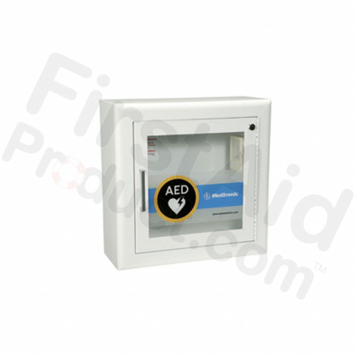 Physio-Control AED Wall Cabinet with Alarm