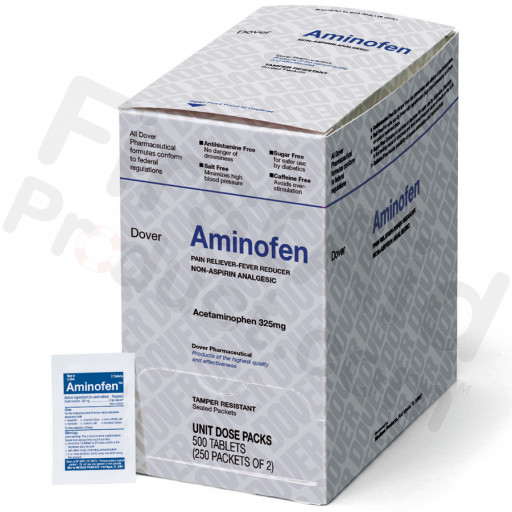Aminofen - Acetaminophen 325mg, 500/box