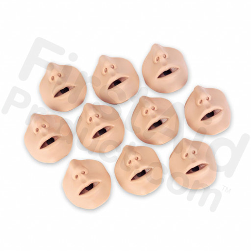 Brad (Light Skin) Mouth / Nose Pieces - Package of 10