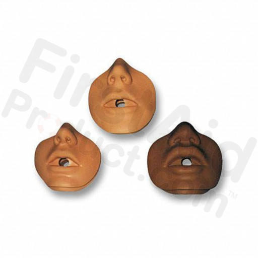 Danny/ Kevin Channel Mouth/Nose Piece (10 pack) - Light Skin
