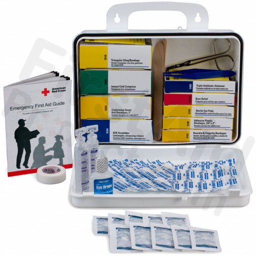 Welder 16 Unit First Aid Kit - Plastic