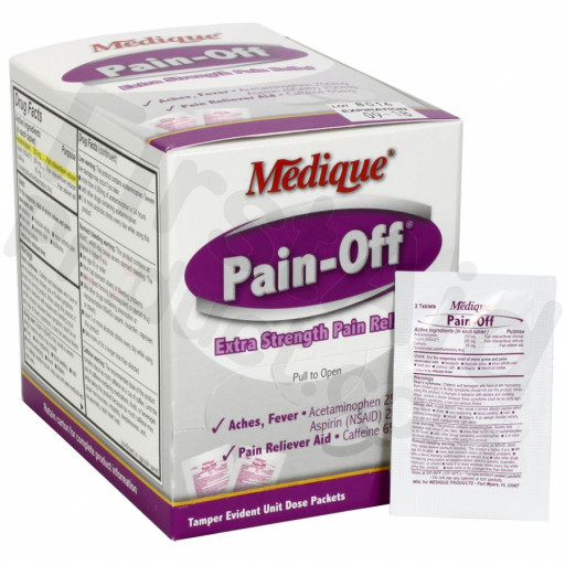 Pain-Off Extra-Strength Pain Relief - 100 per box