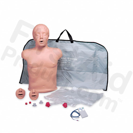 Brad CPR Training Manikin with Electronics and Bag
