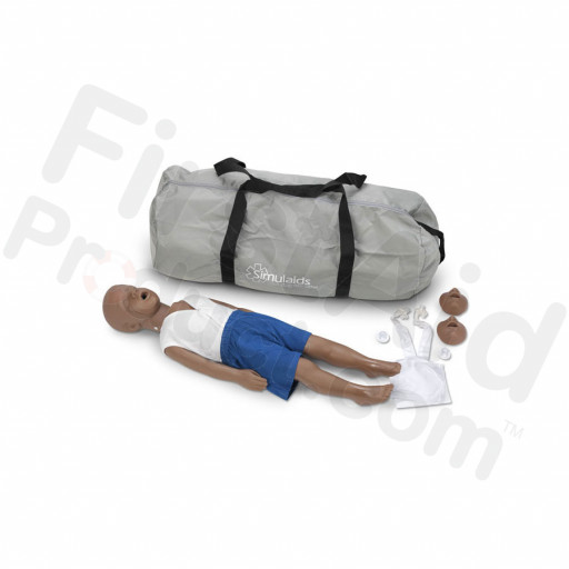 Simulaids Kyle 3-Year-Old CPR Manikin - African-American