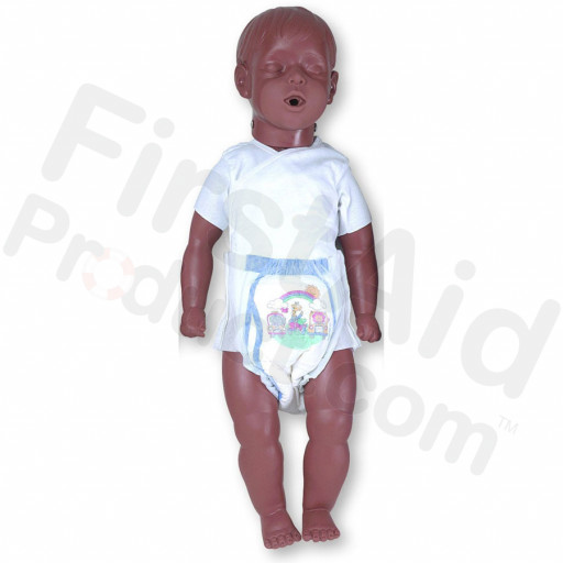 Simulaids 6 to 9-Month-Old Kevin with Carry Bag - African-American