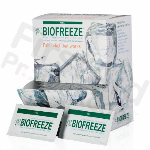 Biofreeze Pain Relieving Gel, 5gm., 100/box