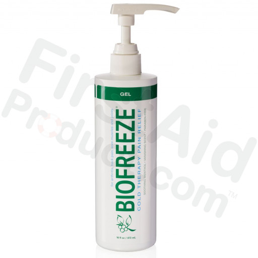 Biofreeze Pain Relieving Gel, 16oz Pump Spray