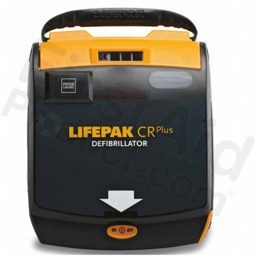 Physio-Control LIFEPAK CR PLUS AED Kit - Fully Automatic w/ AHA Voice Prompt