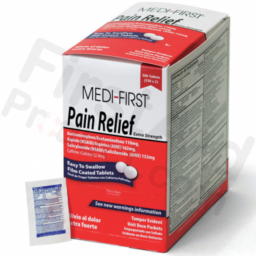 Pain Relief, 500/box