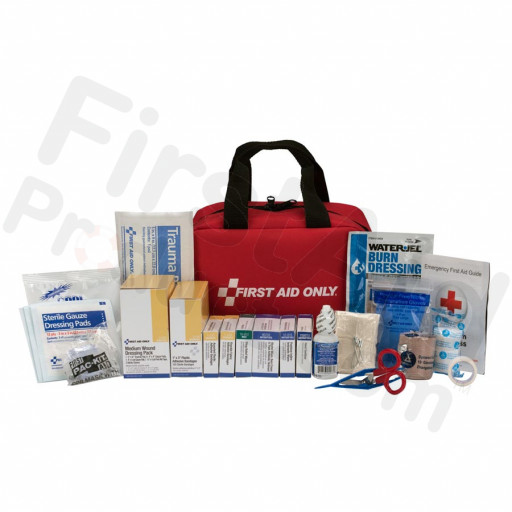 50 Person First Aid Kit, ANSI A+, Soft Case