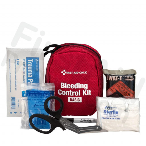 Bleeding Control Kit - Basic, Fabric Case