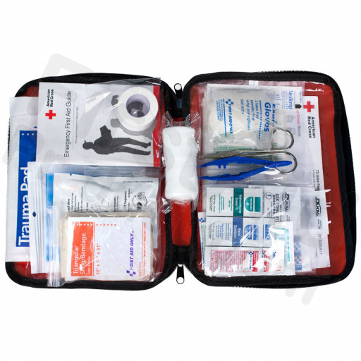 Be Red Cross Ready First Aid Kit - 73 piece Softsided Kit