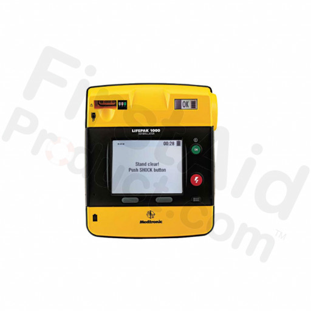 LIFEPAK 1000 defibrillator – ECG Display, 3-wire