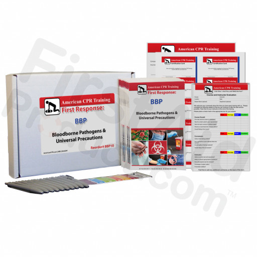 Bloodborne Pathogens Training Pack for 10 Students