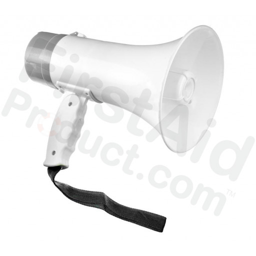 10W Rechargeable Megaphone (Talk, Record, Play Music)