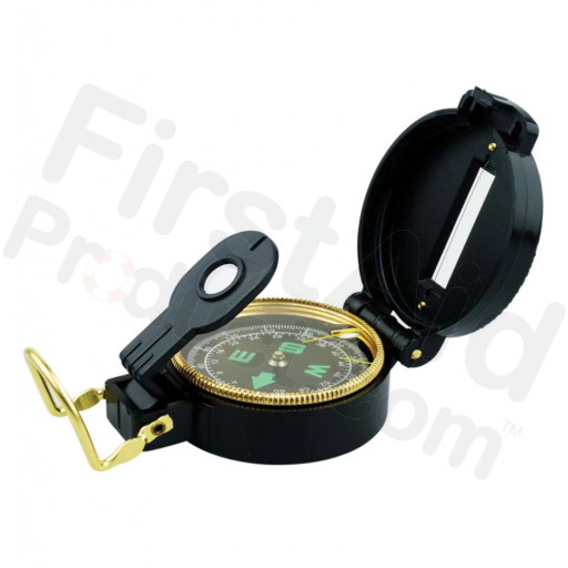 Lensatic Pocket Compass